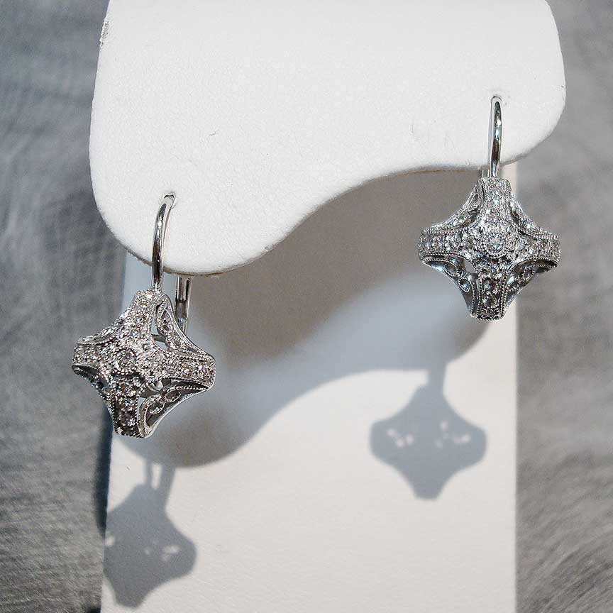 Joy-Den Jewelers - Custom Jewelry Design - Diamond Earrings
