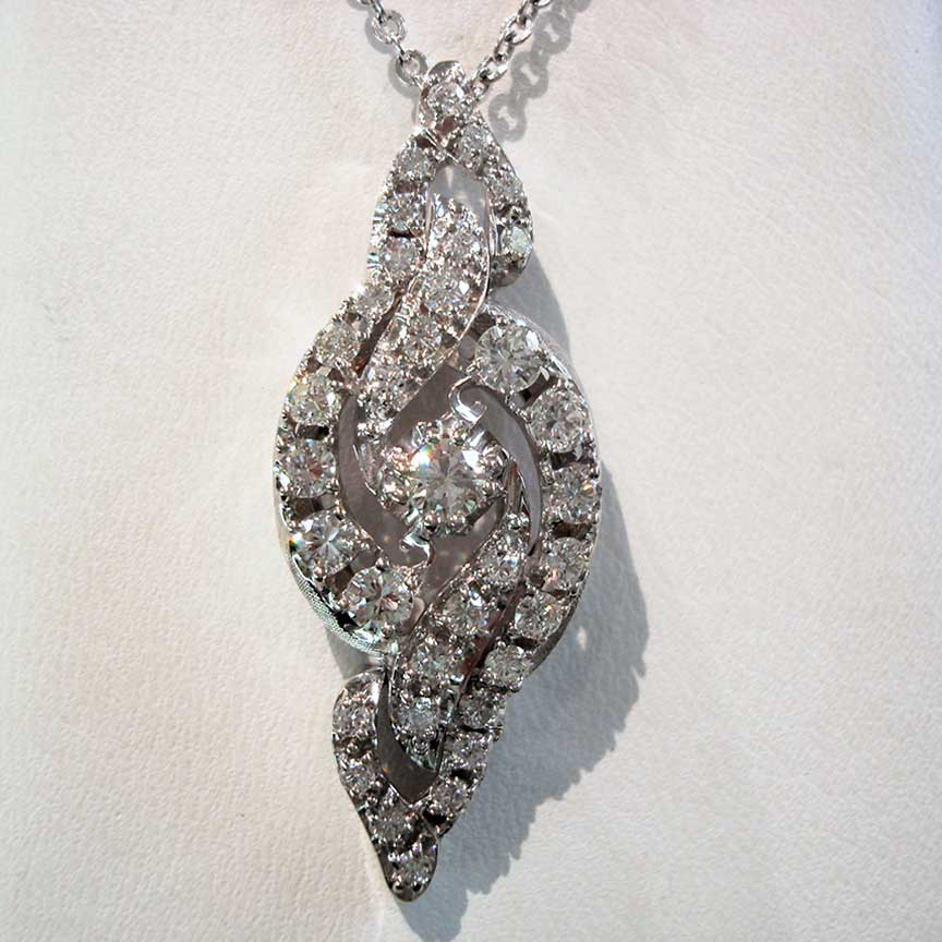 Joy-Den Jewelers - Custom Jewelry Design - Diamond Necklace