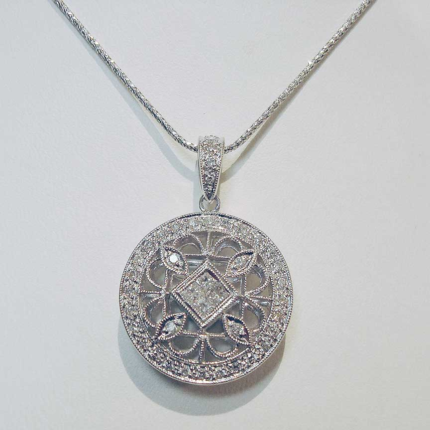 Joy-Den Jewelers - Custom Jewelry Design - Diamond Pendant