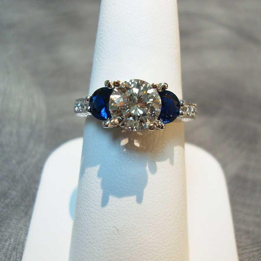 Joy-Den Jewelers - Fine Jewelry - Diamond Sapphire Rings