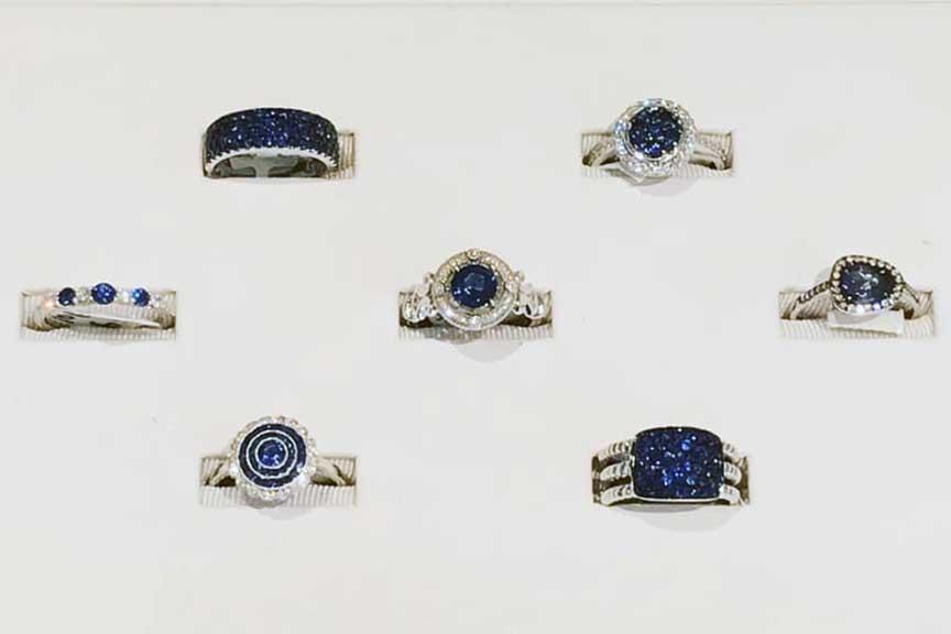 Joy-Den Sapphire Rings